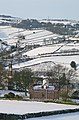"""The Towers and the """"FA Cup"""" chimney, Clayton, in the snow (6832108711).jpg"""