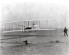 The Wright Brothers' First Heavier-than-air Flight (7605918566).jpg