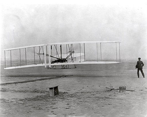 The Wright Brothers' First Heavier-than-air Flight (7605918566)
