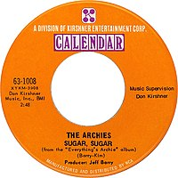 The archies sugar sugar 1969 US vinyl.jpg