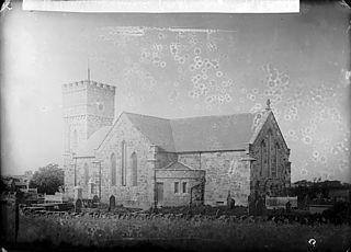 The church, Llanidan