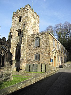 Holywell - St James parish church