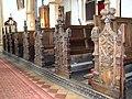 The church of St John the Baptist in Bressingham - C16 bench ends - geograph.org.uk - 1771816.jpg