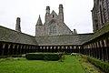 The cloister - Mont St Michel (32798189451).jpg