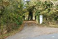 The entrance to Northfields from the Ufton Fields lane - geograph.org.uk - 1550629.jpg