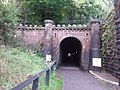 The entrance to the original tunnel of the horse drawn railway.jpg