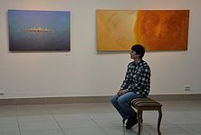 The exhibition 10 years Artel of Belarusian Artists 21.01.2015 03.JPG