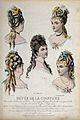 The heads and shoulders of five women with their hair combed Wellcome V0019889EL.jpg