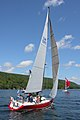 The sailboat Koobalibra, a C&C 115, competing in the Great Bras d'Or Cup, Leg 3 of Race the Cape 2013 04.jpg