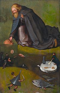 The temptation of Saint Anthony, by Jheronimus Bosch (Kansas).jpg
