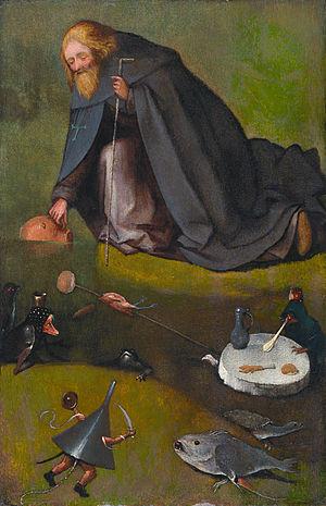 The Temptation of St Anthony (Kansas City) - Image: The temptation of Saint Anthony, by Jheronimus Bosch (Kansas)