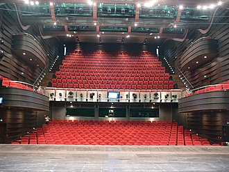 Bielefeld Opera - Auditorium as viewed from the stage