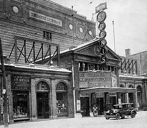 Théâtre Saint-Denis - Théâtre Saint-Denis, circa 1925