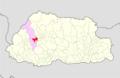 Thimphu Chang Gewog Bhutan location map.png