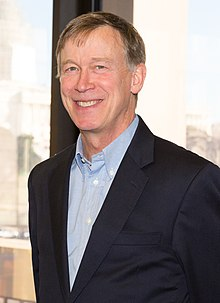 Thomas Perez meets with Governor John Hickenlooper Jr., January 2015 (cropped).jpg