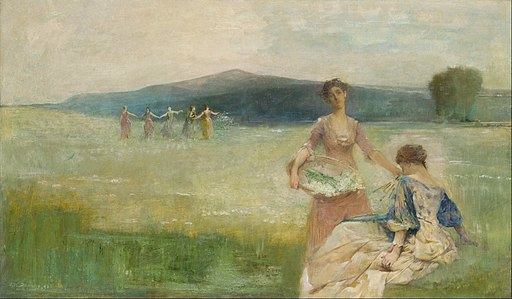 Thomas Wilmer Dewing - Spring - Google Art Project