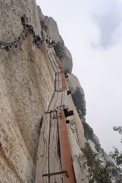 hike: the Huashan Trail