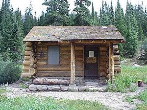 Thunder Lake Patrol Cabin - Image: Thunder Lake Patrol Cabin