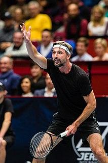 Goran Ivanišević Croatian tennis player