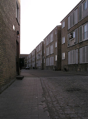 Tingbjerg - Tingbjerg public housing.