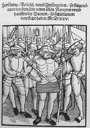 German Peasants' War - Twelve Articles of the Peasants pamphlet of 1525
