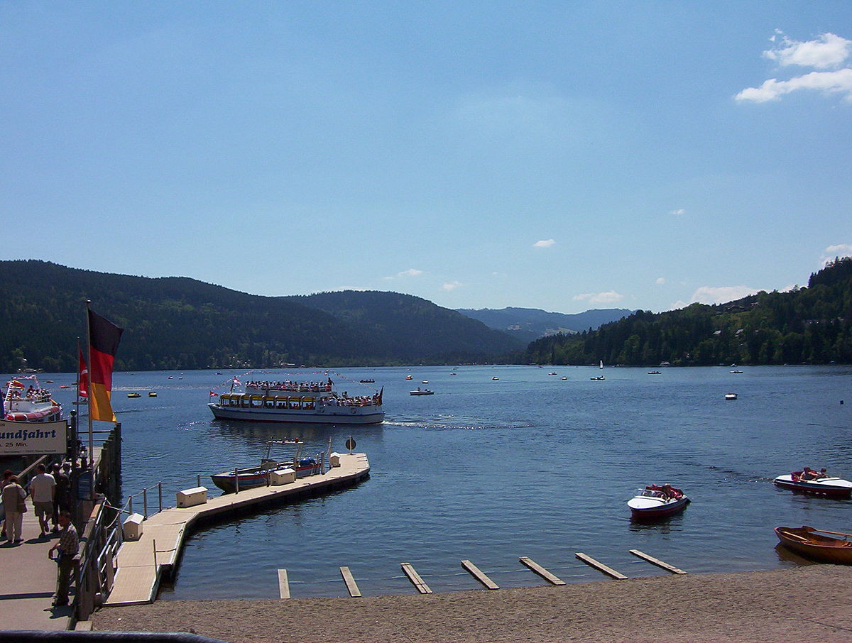 Titisee wikip dia for Piscine foret noire