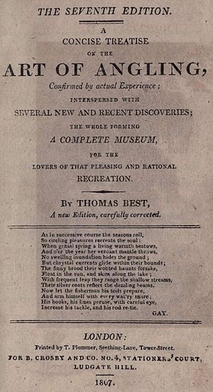 A Concise Treatise on the Art of Angling - Title Page - 7th Edition 1807