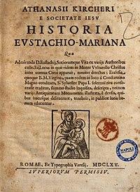 Historia Eustachio Mariana cover