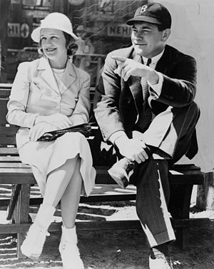 Tom Yawkey - Tom Yawkey with his first wife Elise Sparrow Yawkey in 1938