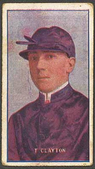 Tom Clayton - Clayton on a 1908 cigarette card