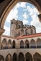 Tomar-Convento de Cristo-Claustro da lavagem-Vista da Rotunda-20140914.jpg
