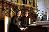 Tonspuren 2014 Florian Weber an der Orgel der Klosterkirche Irsee.jpg
