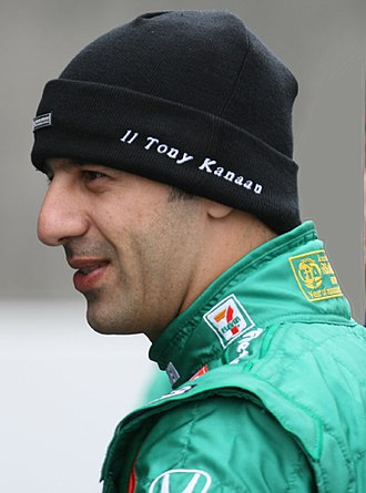 2014 Indianapolis 500 - Defending race winner Tony Kanaan
