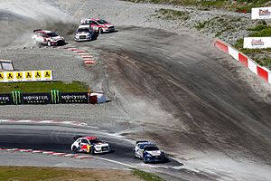 FIA World Rallycross Championship - Regular lap vs. Joker lap (2016 World RX of Norway)