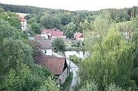 Top view of Tomice, Benešov District.jpg