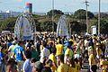 Torcedores chegando ao Mané Garrincha (28738541256).jpg