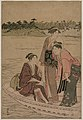Torii Kiyonaga - Passengers in a Ferry Boat on the Sumida River - 1956.750.a - Cleveland Museum of Art.jpg