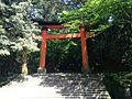 Torii of Upper Shrine of Usa Shrine.JPG