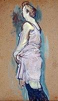 Toulouse-Lautrec - FEMME DE MAISON BLONDE, 1894, MTL.178.jpg