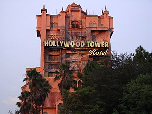 The Twilight Zone Tower of Terror - The original Tower of Terror, at Disney's Hollywood Studios