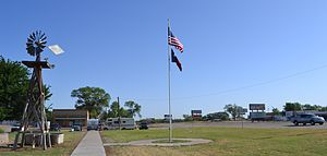 Estelline, Texas - Town Square - Estelline, Texas
