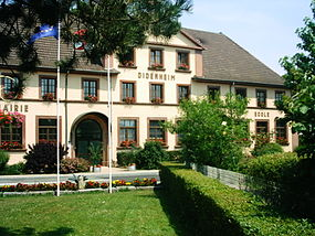 Town hall from Didenheim (France).JPG