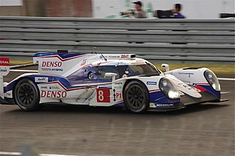 2014 FIA World Endurance Championship - Toyota won the Manufacturers' Championship with the Toyota TS040 Hybrid.