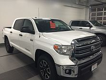 2017 Toyota Tundra Crewmax With Trd Option Package