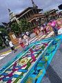 Tradicionales alfombras de San Miguel en Orizaba, Veracruz 2017 01.jpg