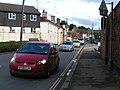 Traffic on Charlotte Street, the A377 through Crediton - geograph.org.uk - 1434567.jpg