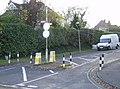 Traffic restriction at Elsley Road - geograph.org.uk - 611120.jpg