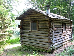Edwin Way Teale - Image: Trail Wood writing cabin