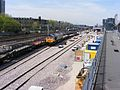 Train carrying track for Crossrail London 01.JPG