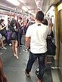 Trajno de limo kun ĉeftero ĉe Ŝenĵeno al la Centro (Honkongo) 17.jpg